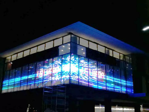 智能LED透明屏
